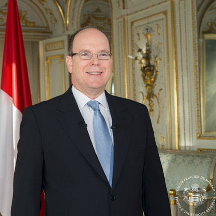 Message de S.A.S le Prince Albert II