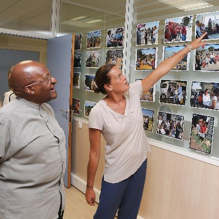 Visit by Archbishop Desmond Tutu to 'Fight Aids Monaco'