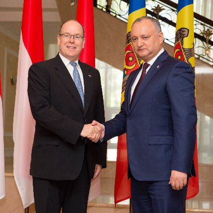 H.S.H. Prince Albert II's Official Visit to Moldova - 4 and 5 May 2017