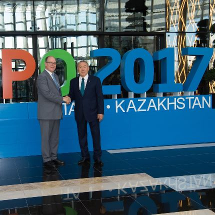Trip to Kazakhstan for the International Exhibition 2017