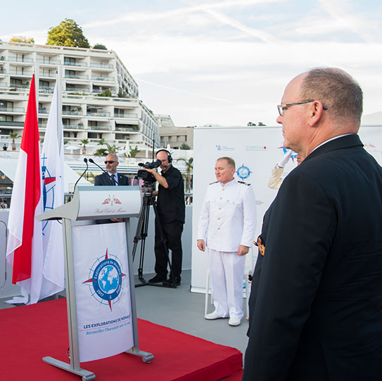 The Yersin Leaves Monaco for Three Years of Scientific Exploration Round the Globe