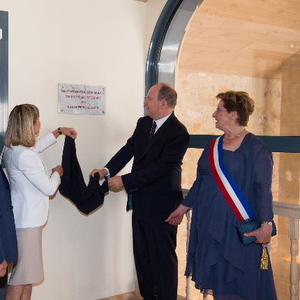 Trip by H.S.H. Prince Albert II to New Aquitaine