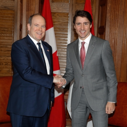 Visit by H.S.H. the Prince in Canada