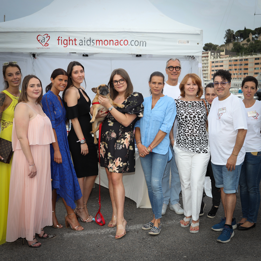 H.S.H. Princess Stéphanie took part in Test in the City by Night