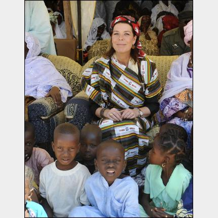 HRH the Princess of Hanover on a humanitarian mission to Niger