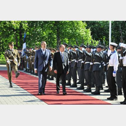 Official visits by the Sovereign to Latvia and Estonia