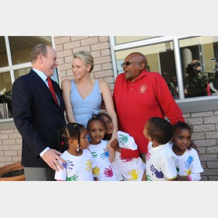 Publication in the Journal Officiel of 9 December 2011 of the creation of the Princess Charlene...