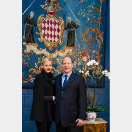 New Year's Message from T.S.H. the Prince et the Princess for 2013