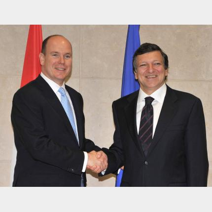 H.S.H. Prince Albert II's visit to the European Institutions in Brussels